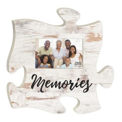 Memories, Puzzle Photo Frame  -
