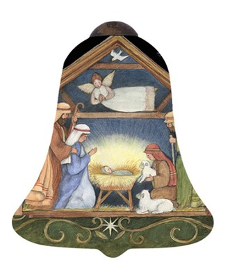 Nativity Ornament  -     By: Susan Winget