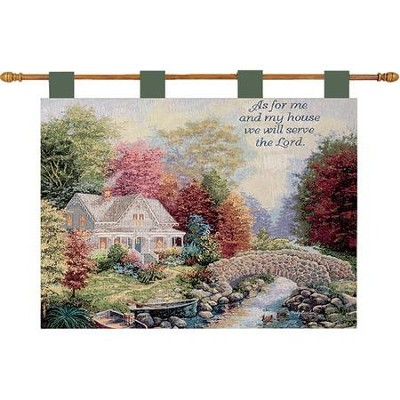 As For Me and My House, Autumn Tranquility Wallhanging  -     By: Nicky Boehme
