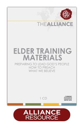 Elder Training Materials, CD-ROM   -     By: Christian & Missionary Alliance