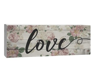 Love, Plaque  -