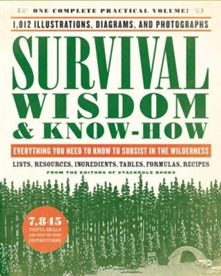 Survival Wisdom & Know-How: Everything You Need to Know to Subsist in the Wilderness  -     By: The Editors of Stackpole Books