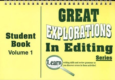 Great Explorations In Editing Series,  Student Book 1  -
