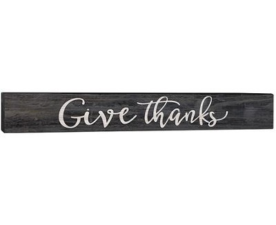 Give Thanks, Plaque  -