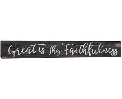 Great Is Thy Faithfulness, Plaque  -