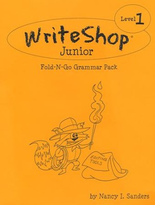 Write Shop Junior Fold-N-Go Grammar Pack Level 1   -     By: Nancy I. Sanders