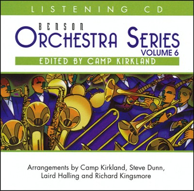 Benson Orchestra Series Volume 6 listening CD   -