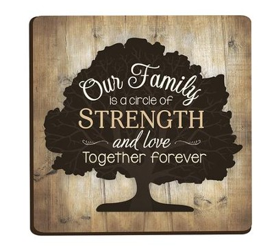 Our Family Is A Circle Of Strength And Love Magnet Christianbookcom