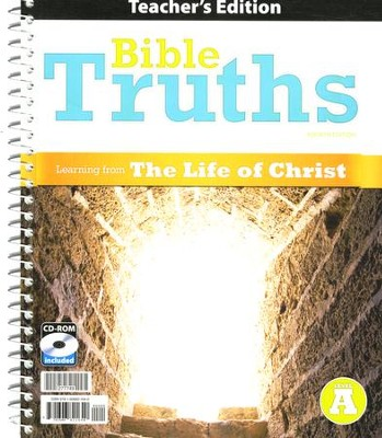 BJU Bible Truths Level A Teacher's Edition with CD-ROM (Grade 7) Fourth Edition  -