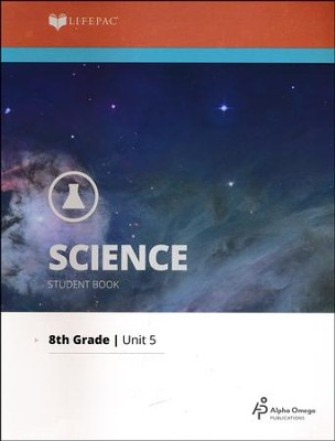 Lifepac Science Grade 8 Unit 5: Records in Rock: Geology   -