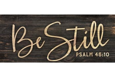 Be Still, Simple Stick  -
