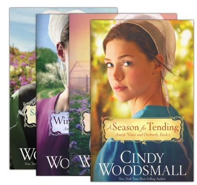 Amish Vines and Orchards Series, Volumes 1-4  -     By: Cindy Woodsmall