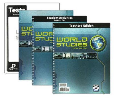 BJU Press Heritage Studies Grade 7 (World Studies) Homeschool Kit, 3rd Edition  -