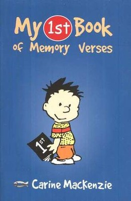 My 1st Book of Memory Verses   -     By: Carine Mackenzie