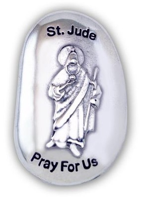 St. Jude, Pray For Us Pocket Stone  -