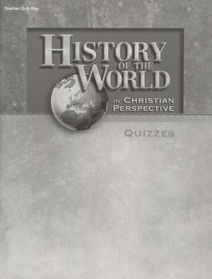 History of the World Quizzes Key   -