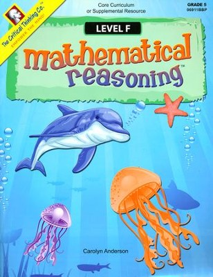 Mathematical Reasoning Level F   -