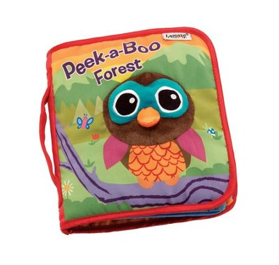 Peek A Boo Forest, Soft Book  -