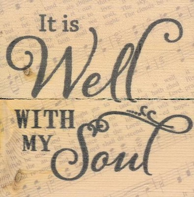 It Is Well With My Soul, Rustic Magnet  -