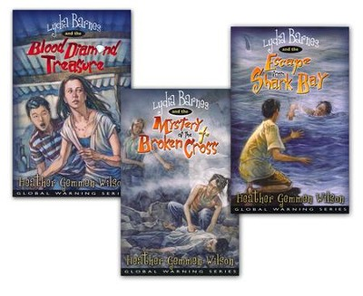 Lydia Barnes Series - Set of 3 Books  -     By: Charlie Alcock