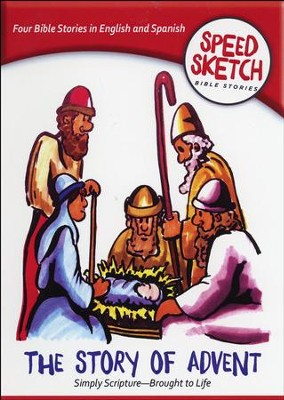 The Story of Advent, Speed Sketch Bible Stories Series, DVD    -