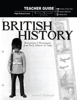 British History-Teacher: Observations & Assessments from Early Cultures to Today - eBook  -     By: James Stobaugh