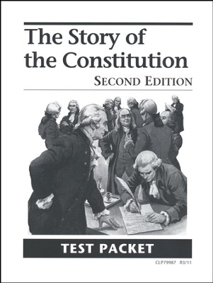 The Story of Constitution Test, Grades 8-12    -     By: Homeschool