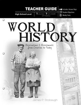 World History-Teacher: Observations and Assessments from Creation to Today - eBook  -     By: James Stobaugh