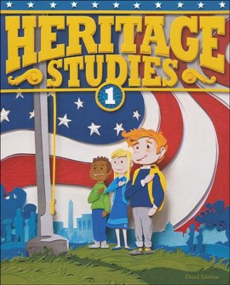 BJU Heritage Studies Grade 1 Student Text, Third Edition    -