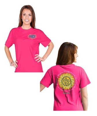 Follow the Son Shirt, Pink, Small  -