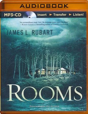 Rooms: A Novel - unabridged audio book on MP3-CD  -     Narrated By: James L. Rubart     By: James L. Rubart