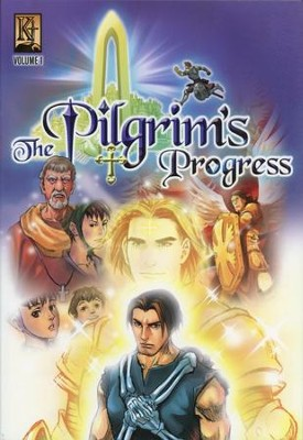 The Pilgrim's Progress Graphic Novel, Volume 1   -     By: John Bunyan