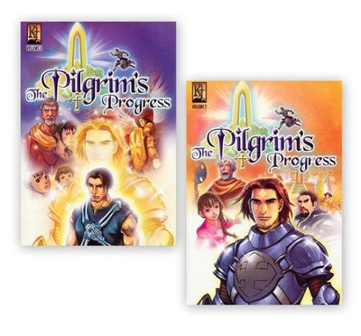 The Pilgrim's Progress Graphic Novel, 2 Volumes   -     By: John Bunyan