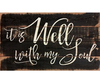 It Is Well With My Soul, Pallet Decor   -
