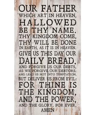 a47df4618e6c9 The Lord's Prayer, Pallet Decor - Christianbook.com