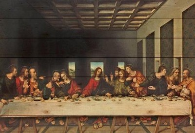 Last Supper, Pallet Decor   -