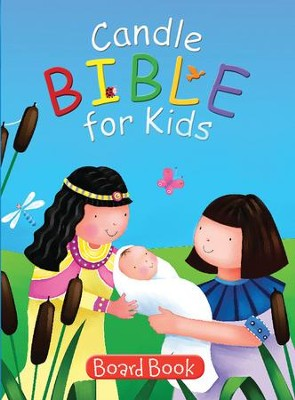 Candle Bible for Kids Board Book  -     By: Juliet David, Jo Parry