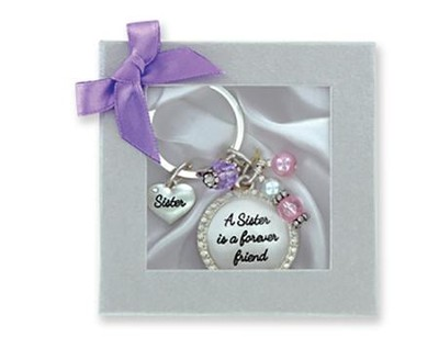 Sister Is A Forever Friend Keyring   -