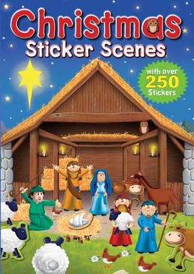 Christmas Sticker Scenes  -     By: Juliet David