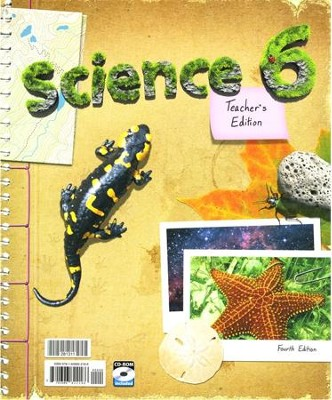BJU Science Teacher's Edition Grade 6, 4th Edition   -