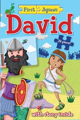First Jigsaws David  -     By: Josh Edwards     Illustrated By: Chris Embleton-Hall