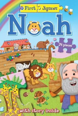 First Jigsaws Noah  -     By: Josh Edwards     Illustrated By: Chris Embleton-Hall