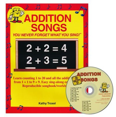 Audio Memory Addition Songs Workbook & CD Set    -     By: Kathy Troxel