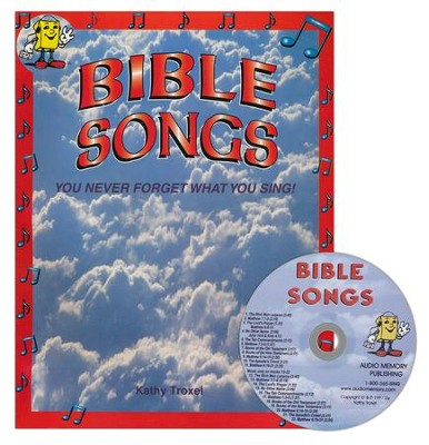 Audio Memory Bible Songs CD & Workbook Set    -     By: Kathy Troxel