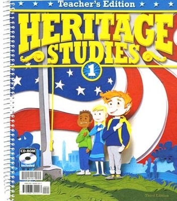 Heritage Studies 1 Teacher Edition with CD-ROM, 3rd Edition  -