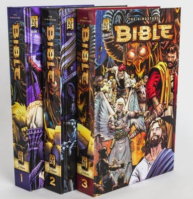 Complete Kingstone Bible, 12 Books in Three Hardcover Volumes  -