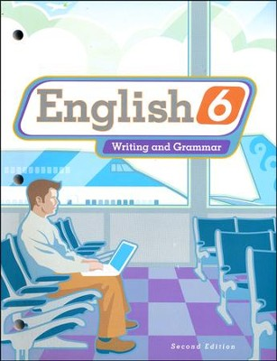 BJU English Grade 6 Student Text (Second Edition, Updated Copyright)  -