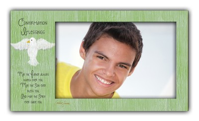 Confirmation Blessings Photo Frame, Boy  -     By: Caroline Simas
