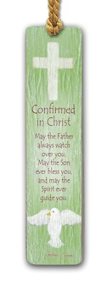 Confirmed In Christ Bookmark  -     By: Caroline Simas