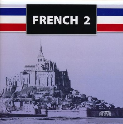 BJU Press French 2 Audio CD Set  -